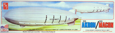 US Navy Airship USS Akron Macon Luftschiff 1:520 AMT Model Kit AMT892 Zeppelin