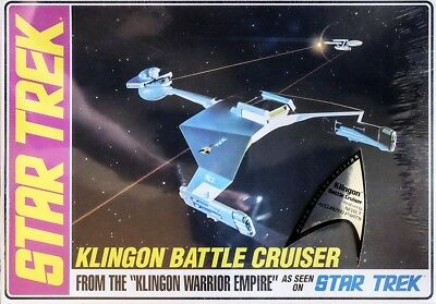 Star Trek Klingon Battle Cruiser Raufschiff 1:650 AMT Model Kit Bausatz AMT720