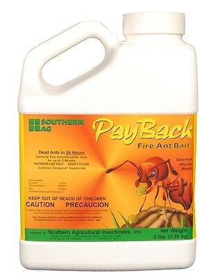 Payback Fire Ant Bait W/ Spinosad - 3 Lbs.