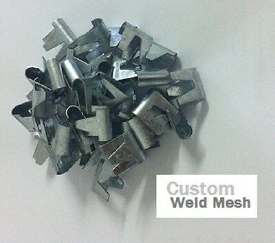 180 Large Wire mesh clips ideal for Fencing, Cage making, avairy, hutches