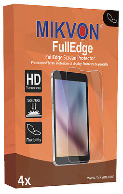 4x Mikvon FullEdge screen protector for Samsung Gear 2 Neo foil