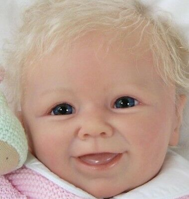 ❤️Reborn Doll Baby❤️ Custom Made From Moritz Kit By Linde Scherer❤Ready March