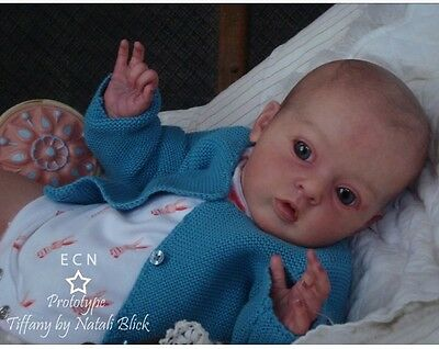 ❤️Beautiful Reborn Doll Baby❤️ Custom Made From Tiffany Kit By Natalie Blick❤️