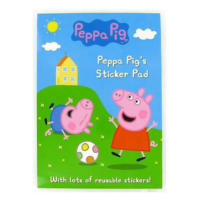 Peppa Pig A4 sticker pad with lots of  stickers