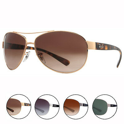 Ray Ban RB 3386 Unisex Aviator Sunglasses