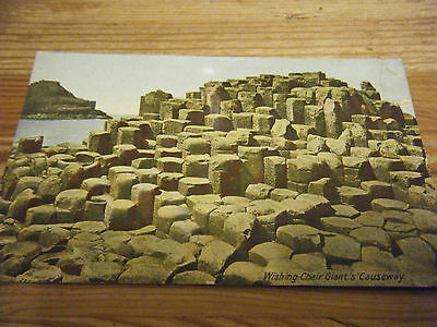 1912  Lawrence Of Dublin Card - Wishing Chair At The Giants Causeway- Ireland