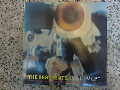The Residents- Pal Tv Lp Record. Red Vinyl. Doublevision  Dvr 17A