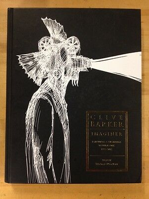 Clive Barker Imaginer Paintings & Drawings Volume One 1993-2012