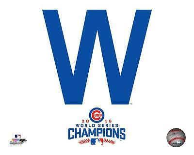 Chicago Cubs 2016 World Series Champions 8x10 W Win photo Kris Bryant Rizzo
