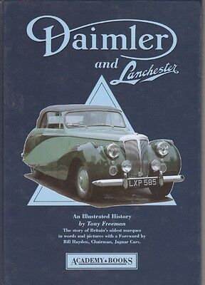 Daimler And Lanchester An Illustrated History Tony Freeman Chassis Types 1936-90