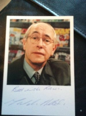 Malcolm Hebden Signed Autograph