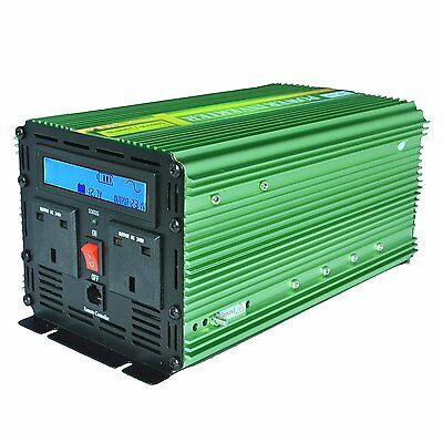 Generic Power Inverter Pure Sine Wave 1000W Peak 2000W DC 12V to 240V AC for Ca