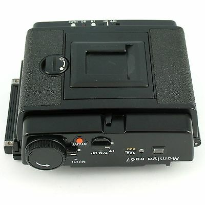 Mamiya RB67 ProSD 120/220 6x7 Power Drive Back, excellent + condition