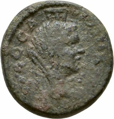 Ancient Rome Macedon Caracalla AD 198-216. Tyche