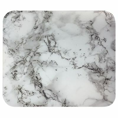 J.Burrows Patterned Mouse Pad White Marble