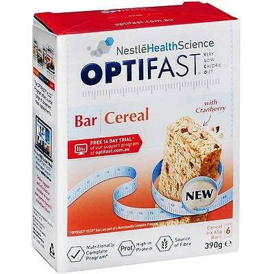 Optifast VLCD Cereal Bar 65g X 6