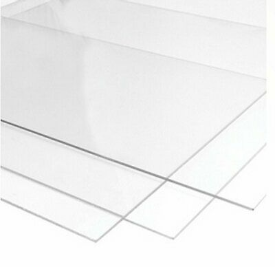 Clear Acrylic Perspex Plastic Sheet Panel  CUT TO SIZE