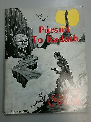 Call of Cthulhu RPG Pursuit to Kadath Book