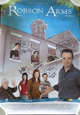 Robson Arms Tv Show Signed Cast Poster              (Inv4214)