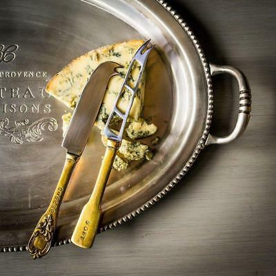 Culinary Concepts Versailles Traditional and Soft Cheese Knife Gift Set