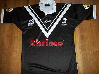 2006 New Zealand Kiwis Rugby League Shirt Adults Medium