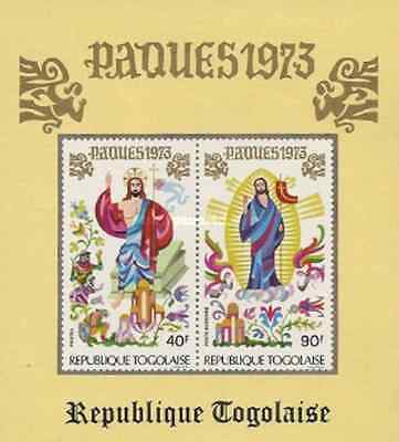 Timbres Religion Paques Togo BF67 * lot 16482