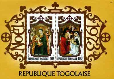 Timbres Religion Noel Togo BF73 * lot 16483