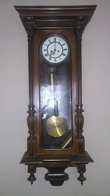 """Large Vienna Wall Clock  """"112Cm"""" From 1892-1900"""