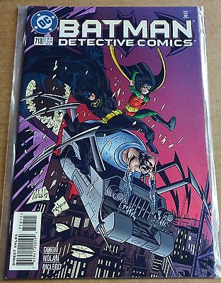 Dc Comics; Batman Detective Comics #718  New/unread High Grade Nm 1998