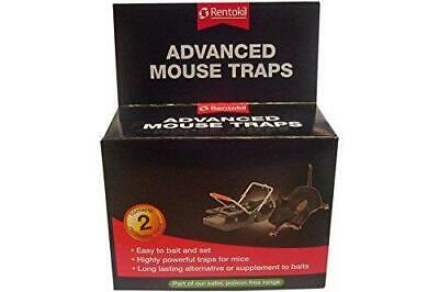 Rentokil Advanced Mouse Traps Two / Twin Pack