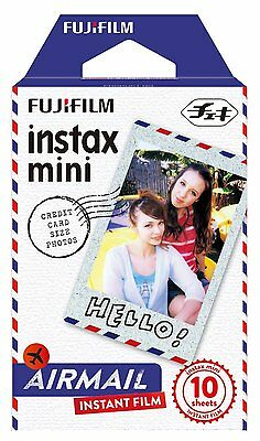 Fujifilm Air Mail Film x10 Shots Mini Instax Film