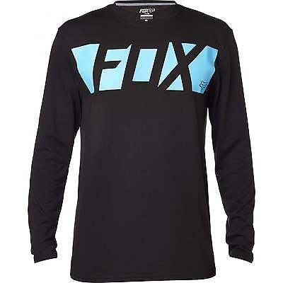 Fox Cease LS Men's Tech Tee Jersey Black 2016