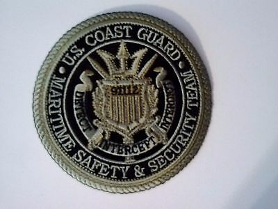 U.S. Coast Guard Maritime Safety and Security Team Patch Iron or Sewn on 4""