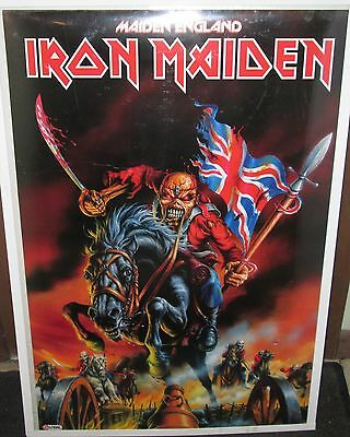 Iron Maiden Poster Death Limited Production New Maiden In England Heavy Metal