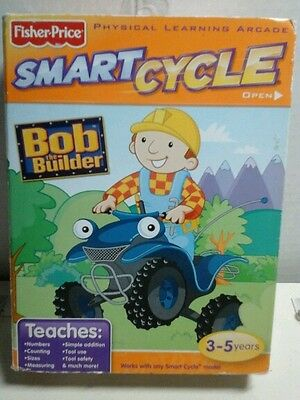Fisher-Price Smart Cycle Bob the Builder Software New ages 3-5
