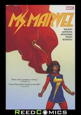 MS MARVEL OMNIBUS VOLUME 1 HARDCOVER Hardback (488 Pages) Collects #1-19 + more