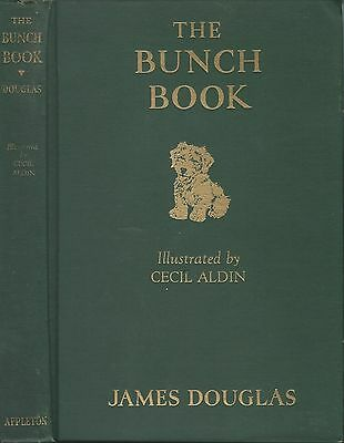 Dog Book THE BUNCH BOOK Sealyham Terrier Douglas Signed HBFE 1932 STORY/ILLUS