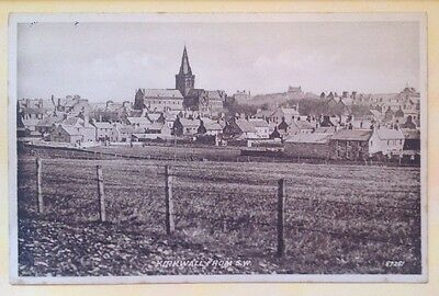 POSTCARD - ORKNEY, KIRKWALL from S.E., Real Photo - Valentines