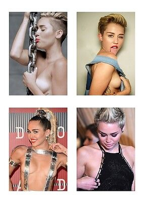 4 ~ Miley Cyrus 5 x 7 5x7 GLOSSY Photo Picture LOT