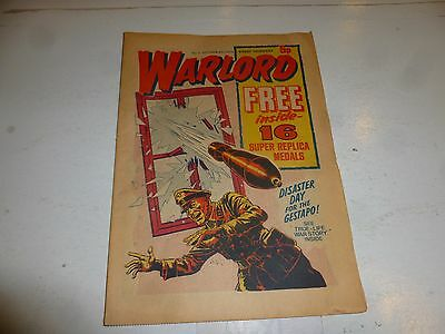 WARLORD Comic - Issue 2 - Date 05/10/1974 - UK Paper Comic