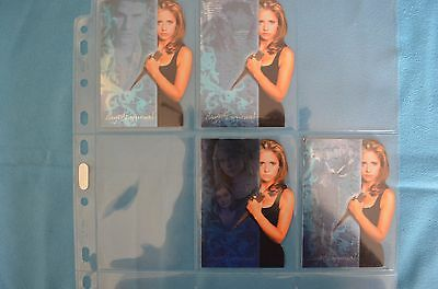 Buffy trading cards Saylers Journal part set