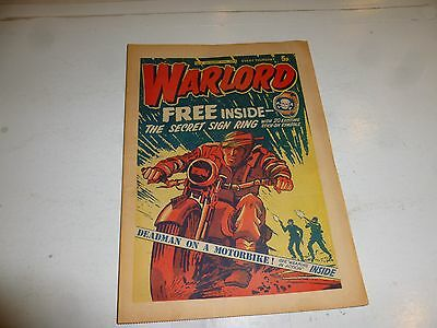 WARLORD Comic - Issue 4 - Date 19/10/1974 - UK Paper Comic