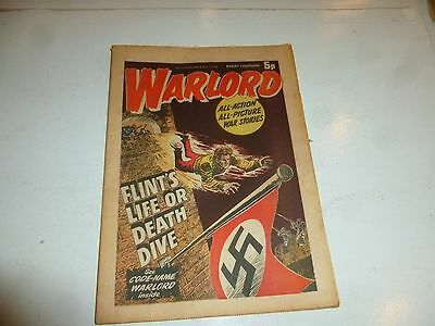 WARLORD Comic - Issue 7 - Date 09/11/1974 - UK Paper Comic