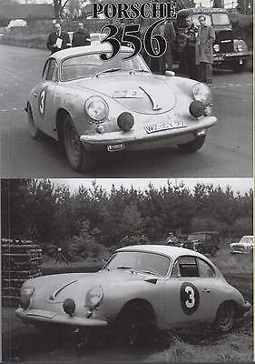 Porsche 356 356A 356B 356C Coupe Convertible Speedster 1953-1965 Road Tests Book