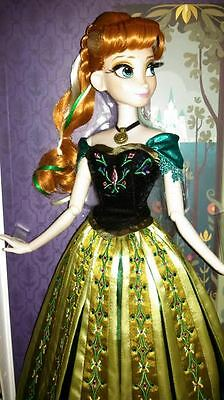 Disney Limited Edition Coronation Anna Doll / Puppe