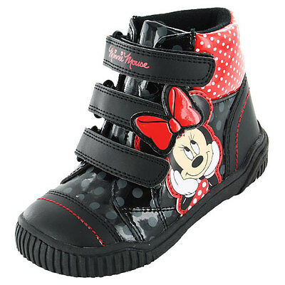 2 X Minnie Disney Trainers Boots Sizes 6 - 10 Uk Kids Children Girls Characters