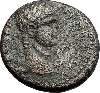 NERO 54AD Antioch Seleukis Genuine Authentic Original Ancient Roman Coin i57956