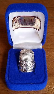 Sterling Silver Thimble by Whitehill Birmingham