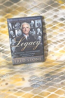 Perry Stone & Fred Stone 2 DVD Set, New