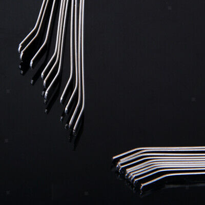 10Pcs 5mm Silvery Blank Headbands Metal Hair Band Lots DIY Accessories